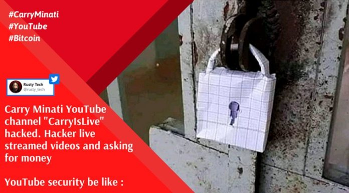 carry minati, carry is live hacked, carry minati youtube hack, youtube security fail, carry minati bitcoin hack, carry minati memes, viral news, indian express
