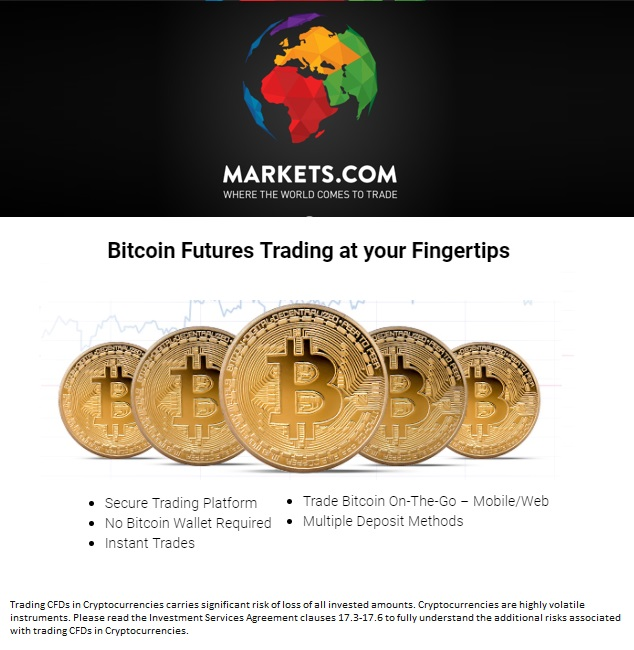 Markets cryptocurrecies trading made easy and done the right way with Markets.com
