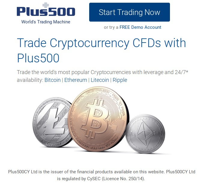 Plus500 Cryptocurrencies