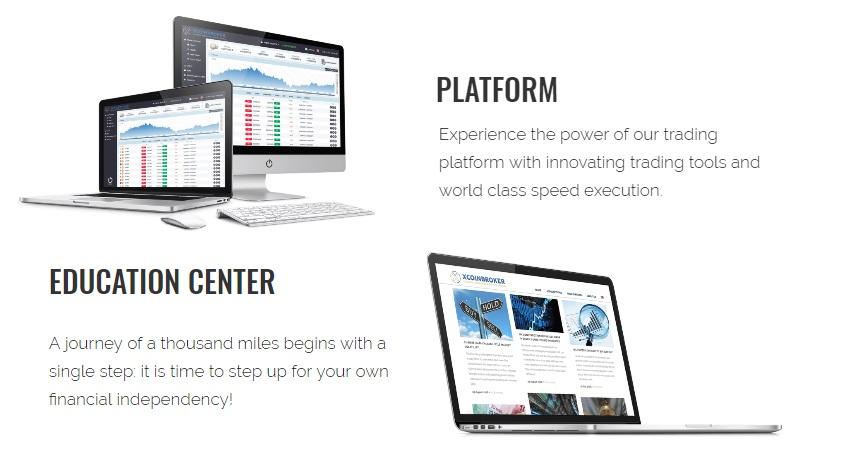 xcoinbroker.com platform