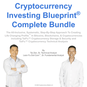 Cryptocurrency Investing Blueprint™ Complete Bundle Course Cover