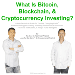 What is Bitcoin Blockchain and Cryptocurrency Trading and Investing Course Cover