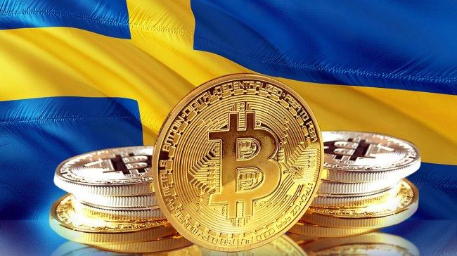 Sweden seeks bitcoin