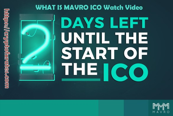 WHAT IS MAVRO ICO Watch Video