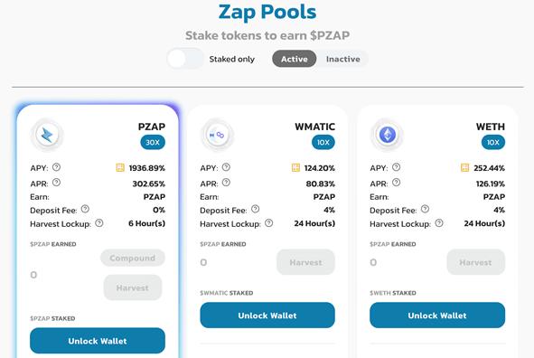 PolyZap-zwembaden