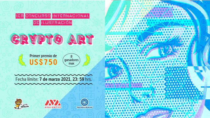 1er Concurso Internacional de Ilustración digital 'Crypto Art'