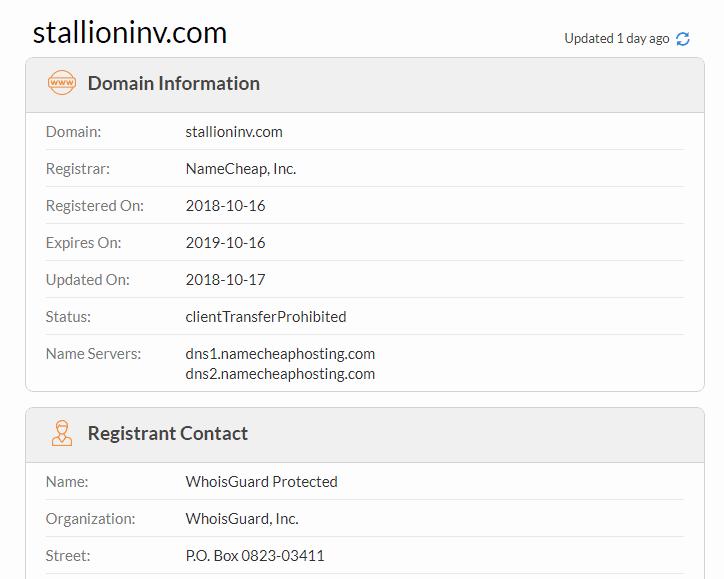 Stallioninv.com Review