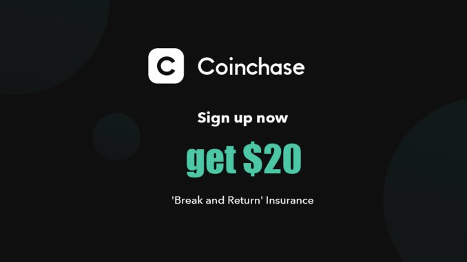 Register Coinchase To Get 0 101 ETH Free Worth $20