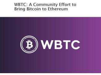 WBTC Token Bring Bitcoin To Ethereum