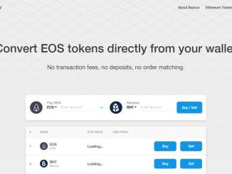 Automated Token Conversions Between ERC20 And EOS