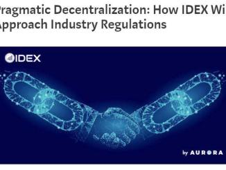 DEX will be implementing KYC/AML policies