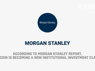 Morgan Stanley Report Says That Institutional Investments In Cryptocurrencies Are Growing