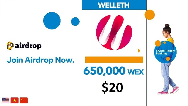 Welleth Crypto Airdrop Tutorial - Guide To Earn 650K WEX