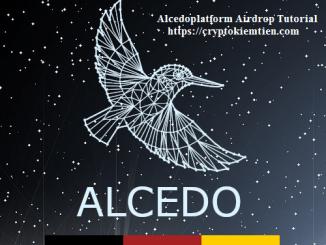 Alcedoplatform Exchange Airdrop Tutorial - Earn 15 ALCE Tokens Free