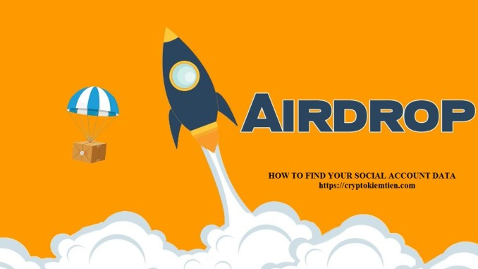 Crypto Airdrop And Bounty Tutorial For Newbie Part 2 - How To Find Your Social Account Data?