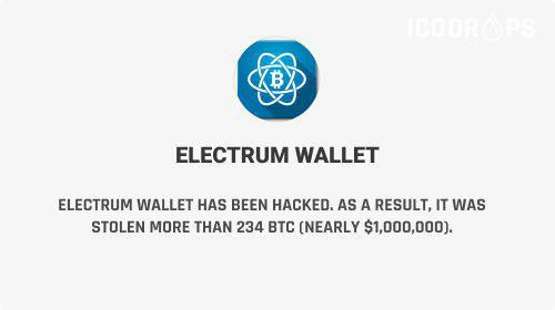 Electrum Wallet Has Been Hacked - It Was Stolen More Than 234 BTC - Worth The About $800K