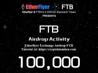 Etherflyer Exchange Airdrop FTB – Earn FTB Tokens Free