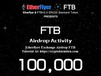 Etherflyer Exchange Airdrop FTB – Earn FTB Tokens Free
