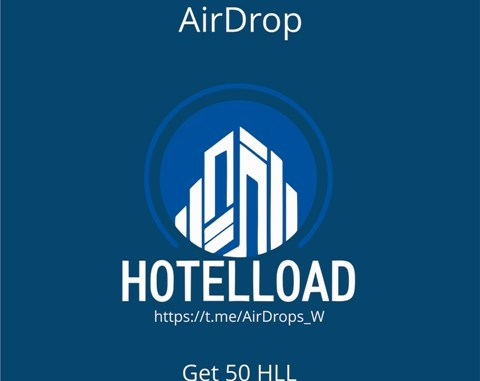 HotelLoad Crypto Airdrop Tutorial - Earn 50 HLL Tokens Free
