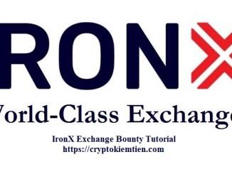 IronX Exchange Bounty Tutorial - Earn 10 IRX Tokens Free - Worth $4.2