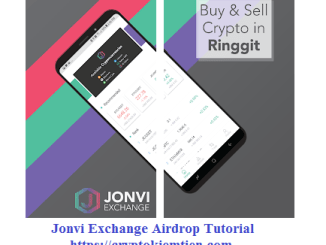 Jonvi Exchange Airdrop Tutorial - Earn 30 JE Tokens Free - Sell And Withdraw Now