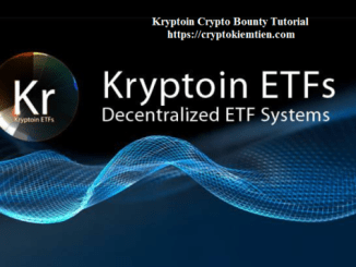 Kryptoin Crypto Bounty Tutorial - Earn KRP Tokens - Worth The $26/KRP