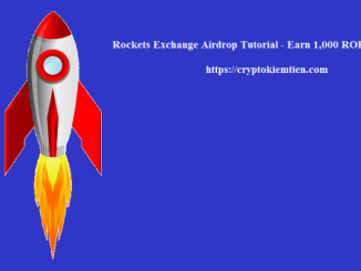 Rockets Exchange Airdrop Tutorial - Earn 1,000 ROK Tokens Free