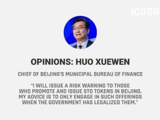 Security Token Offerings (STOs) Are Illegal At Least In Beijing