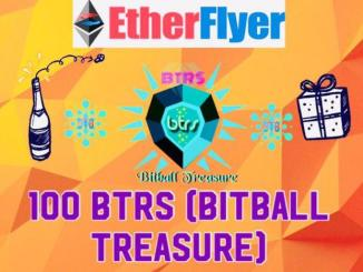 Etherflyer Exchange Airdrop BTRS - Earn BTRS Token Free