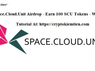 Space.Cloud.Unit Airdrop Tutorial - Earn 100 SCU Tokens Free - Worth $20