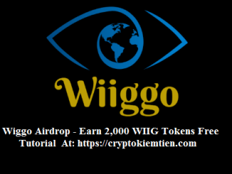 Wiggo Crypto Airdrop Tutorial - Earn 2,000 WIIG Tokens Free