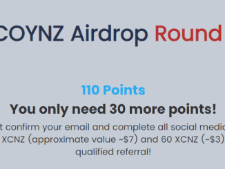 XCOYNZ Exchange Airdrop Tutorial - Earn 140 XCNZ Tokens Free - Worth The $7