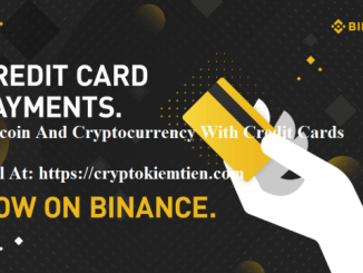 How To Buy Bitcoin And Cryptocurrency With Credit Cards On Binance Exchange