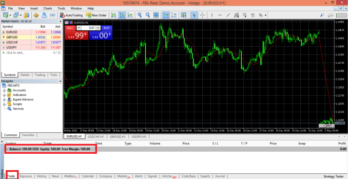 Get Free 100 USD - Register Trading Account On FBS - Trade