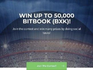 Bitbook Airdrop BXK Token - Win Up To 50,000 BXK Tokens