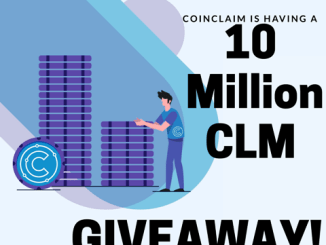 CoinClaim Giveaway CLM Token - 10 Million CLM Tokens Giveaway