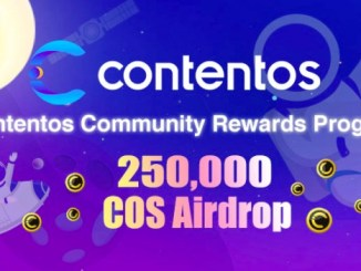 Contentos Airdrop COS Token - Earn Free COS Token - COS Was Invested by Binance Labs