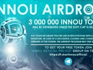 Innou Airdrop INNOU Token - Earn Free 120 INNOU Tokens - Worth The $11