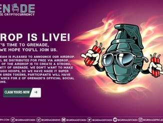 Grenade Airdrop - Earn Free 99 GREN Tokens