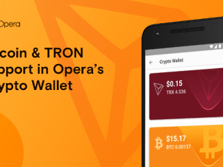Opera Adds Support For Bitcoin And TRON Blockchains To Its Crypto Wallet