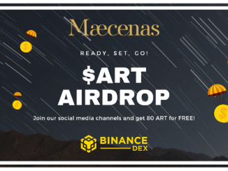 Maecenas Airdrop ART Token - Get 80 ART Tokens Free - ART Is Trading On Binance Dex