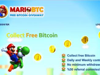 Earn Bitcoin Free With Mariobtc - Earn Bitcoin (BTC) By View Ads
