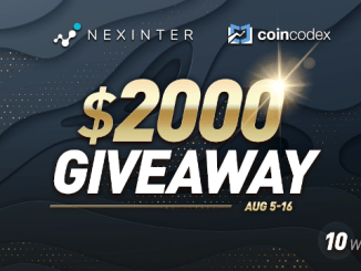 Earn Bitcoin (BTC) - Nexinter Giveaway $2,000 Of Bitcoin