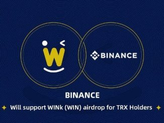 WINk Airdrop WIN Token For TRON (TRX) Holders On Binance Exchange