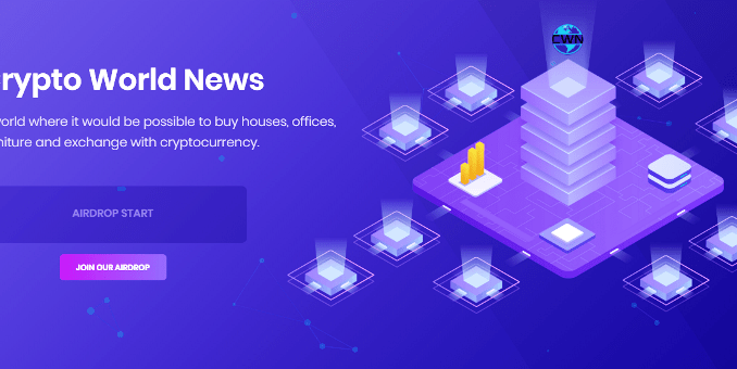 CryptoWorldNews Airdrop CWN Token - Earn 100 CWN Tokens Free - Worth The $20