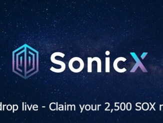 SonicEX Exchange Airdrop SOX Token - Receive 2,500 SOX Tokens Free