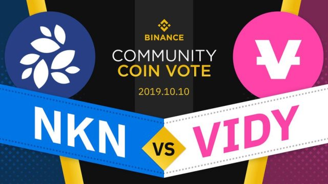 Binance Voting Round 1- NKN vs VIDY - Receive Rewards Of BNB And NKN Or VIDY