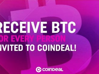 Coindeal Airdrop CDL Token And Bitcoin - Earn 100 CDL Tokens Free - Invite People To Receive Bitcoin Free