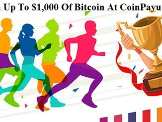 CoinPayu Rewards Bitcoin - Earn Up To $1,000 Of Bitcoin (BTC)