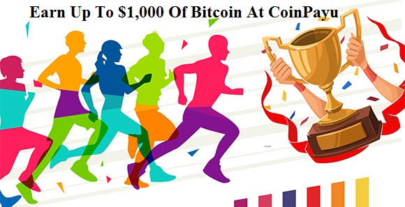 CoinPayu Rewards Bitcoin - Earn Up To $1,000 Of Bitcoin (BTC)